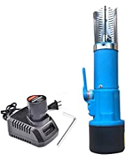 Electric Fish Scale Scraper Remover Cleaner Skinner Kit, Build In 12V Rechargeable Battery,waterproof Performance Well, Easy Fish Stripper Scale Tool,fit For Restaurant, Home Fast Scraping Scales.
