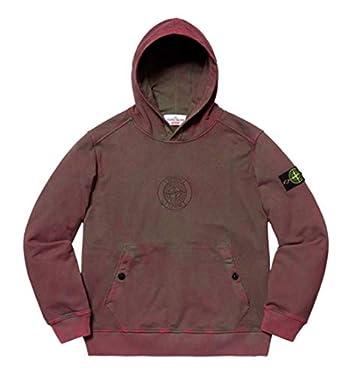 bbd4ed926 Amazon.com: SupremeNewYork Supreme x Stone Island Hooded Sweatshirt ...