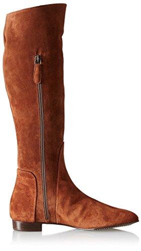 Delman Womens Molly Boot Caramel Country Suede