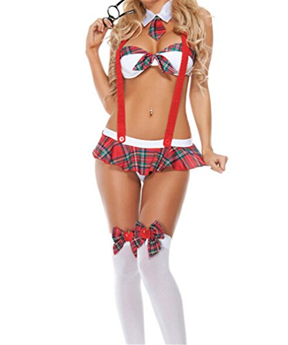 Dress Up School Girls (YayyZai Women Sexy School Girl's Unifrom Dress Up Lingerie Student Lingerie)