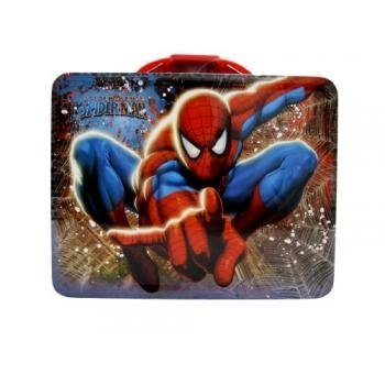 (Spider-man Tin Lunch Box Assorted Styles (one piece))