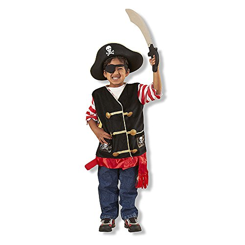 True Grit Costumes (Pirate Role Play Costume Set, Imaginative Toys, 2017 Christmas Toys)