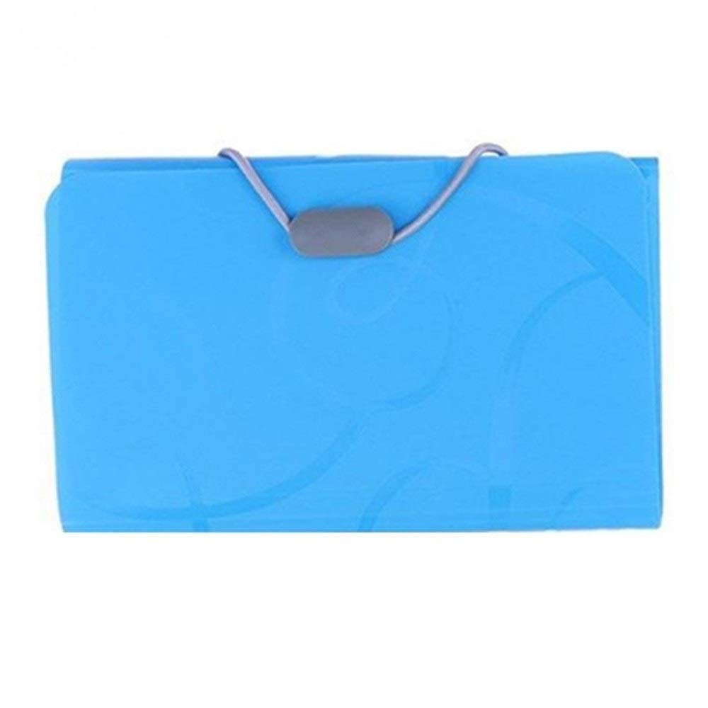 Plastic Candy Color File Folder Small Document Bags Expanding ...