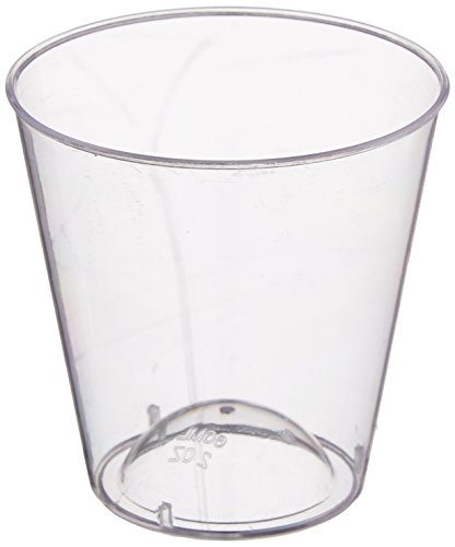 Embellish Crystal Clear Plastic Glass product image