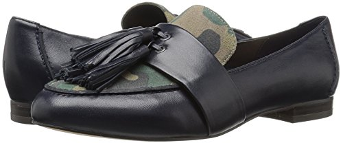The Fix Women's Fabiana Tassel Penny Loafer, Midnight Navy/Camo, 8 M US by The Fix (Image #6)
