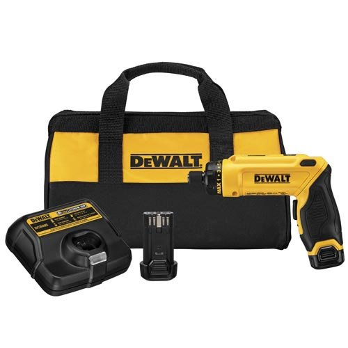 DEWALT DCF680N2 8V Max Gyroscopic Screwdriver 2 Battery Kit (Dewalt Power Tool Screwdriver)