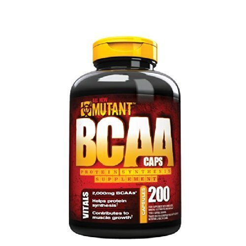 Mutant BCAA Caps - Pack of 200 Capsules by Mutant