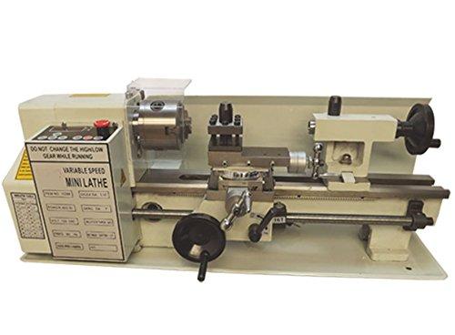 Digital 7 x 14 Precision Mini Variable Metal Lathe 550W 2500RPM Lathe Machine