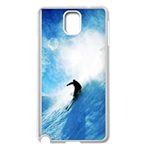 Skiing Samsung Galaxy Note 3 Cell Phone Case White Phone Accessories JV248985