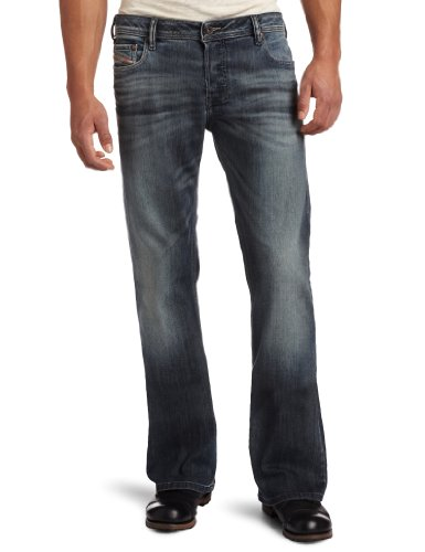 Diesel Men's Zathan 0885K Regular Bootcut Jean
