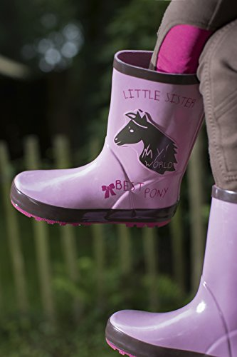 Little Sister by HKM Gummistiefel -Princess-, rosa, 29