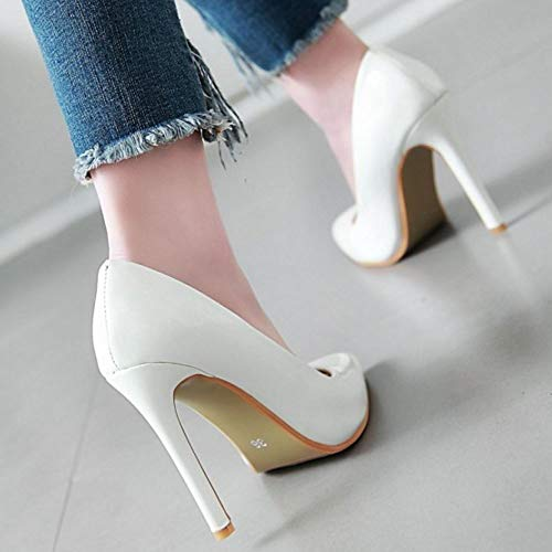 On White Femme Lydee Chaussures Stilettos Baskets Slip wFSR0Bq