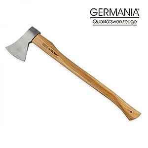 Axt 1250g Hickory Holz Germania Spaltaxt Spaltbeil Holzspalter Beil Holzaxt
