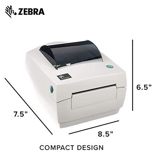 ZEBRA- GC420d Direct Thermal Desktop Printer for Labels, Receipts