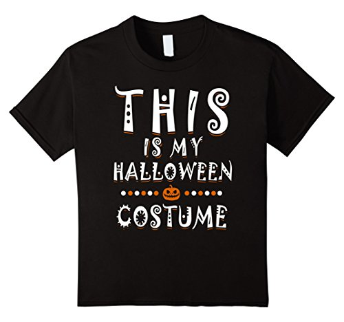 Kids This is my Halloween Costume T-Shirt | Spooky Pumpkin Tee 12 (Father Son Halloween Costumes 2016)