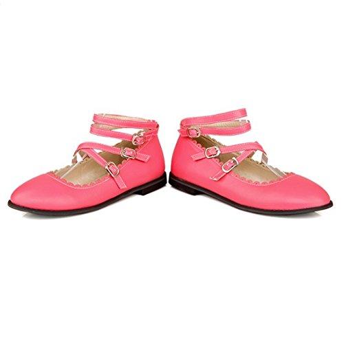 pour femmes sangles croisées Chaussures Vulusvalas à MD à rouges talons XBP6wxfq