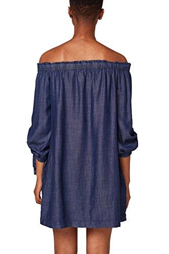 Blue Wash ESPRIT edc by Kleid Damen Blau 901 Dark nWX4q4wAa