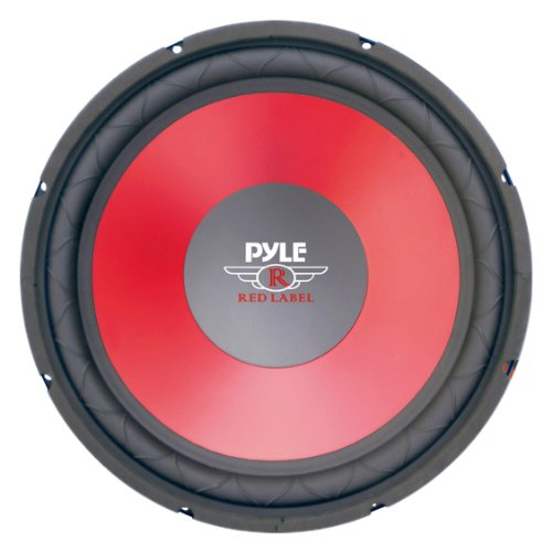 Pyle PLW15RD 15-Inch Red Cone High Performance Woofer ()