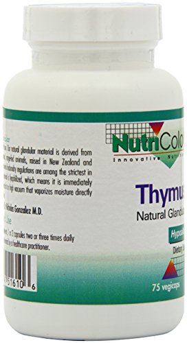 Nutricology Thymus, Vegicaps, 75-Count by Nutricology (Image #2)