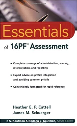 ESSENTIALS OF 16PF ASSESSMENT PDF DOWNLOAD