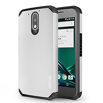 OMOTON Moto Z Play Case - Dual-Layer [Soft TPU Interior] [Durable PC Exterior] Case For Motorola Moto Z Play Droid from OMOTON