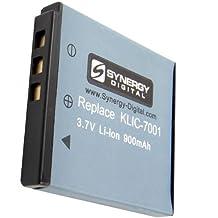 Kodak M853 Digital Camera Battery Lithium-Ion (900 mAh) - Replacement for Kodak KLIC-7001 Battery
