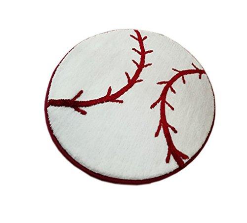 KINIFE Bathmats, Baseball Pattern Bath Mat Carpet Indoor Carpet Living Room Bedroom Carpet ()