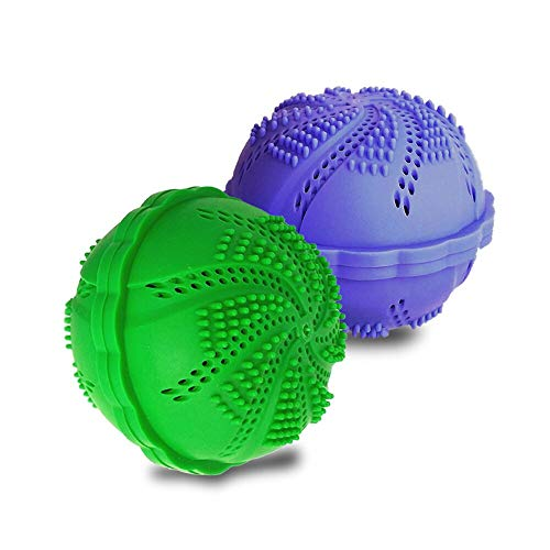 (Wash Ball Laundry Balls, Wash Without Detergent,Set of 2)