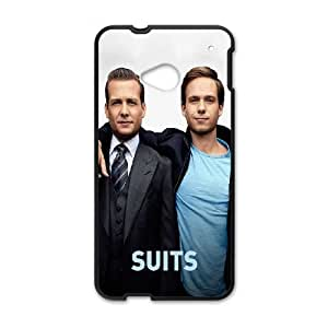 HTC One M7 Cell Phone Case Black_Suits Kayum