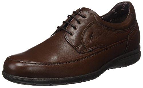 Hombre Negro de Zapatos Negro para Fluchos Ave Derby Cordones Luca Negro 0YxZCw