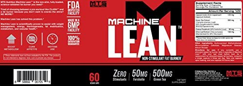 MTS Nutrition Machine Lean™ | 60 Capsules 2