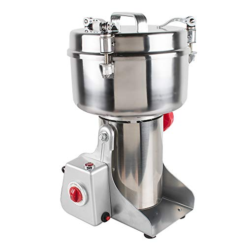 Stainless Steel Electric Herbal Medicine Grinder 1000g Portable Household Chinese Medicial Grains Spice Powder Milling Machine Kitchen for Mom, Wife by Fencia (Image #8)