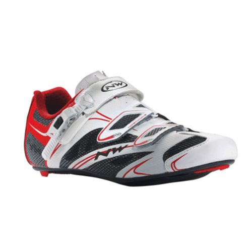 Cycling White Northwave Men's SRS Sonic Shoes Red White Size qTt6zwT