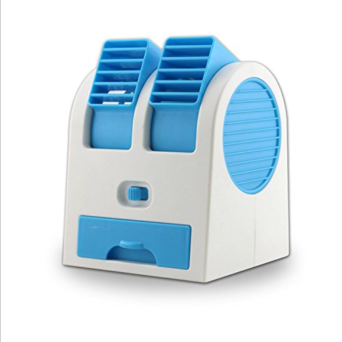 Sykdybz Mini Fan Usb Air Conditioning Fan Student Dormitory Office Mini Mute Humidifier by Sykdybz