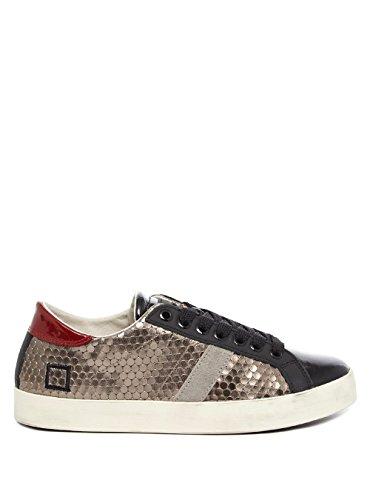 D.A.T.E. Hill Low Pong Piombo Damen Sneaker 38 silber