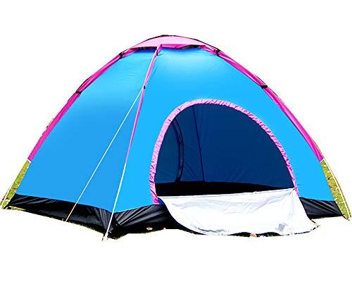 楽々ワンタッチドームテント 3~4人用 -リュック型収納袋付き- キャンプ アウトドア 釣り 運動会●テント14