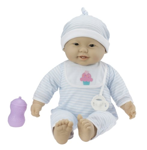 JC Toys Lots to Cuddle Baby Doll - Asian, 20 Inch