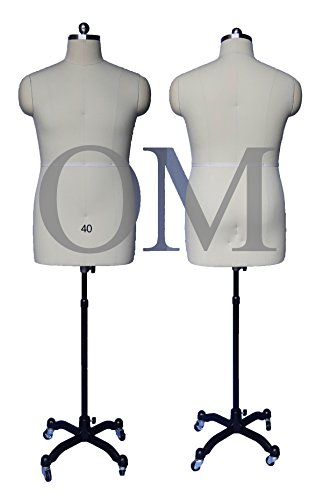 male adjustable dress form - 9
