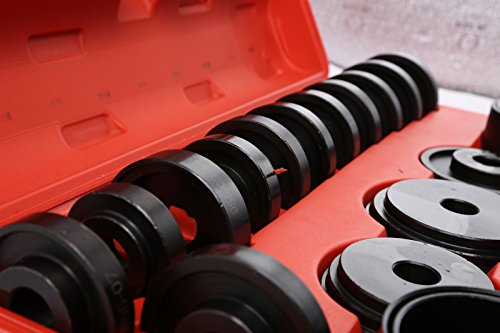 WIN.MAX 23 Pcs FWD Front Wheel Drive Bearing Adapters Puller Press Replacement Installer Removal Tool Kit by WIN.MAX (Image #4)