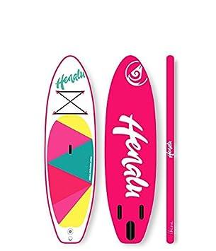 """HENALU Paddle Surf Hinchable - NALU 9´ x 32"""" x 4´75 Incluye"""