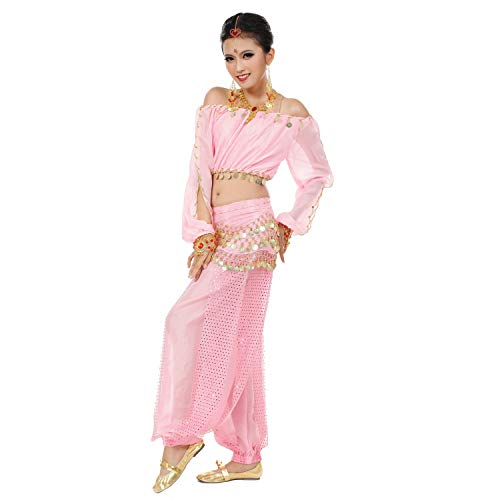 Maylong Womens Harem Pants Belly Dance Outfit