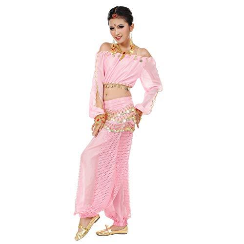 Maylong Womens Harem Pants Belly Dance Outfit Halloween