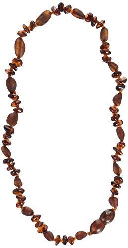 公式の  Momma Necklace Goose Medium/12-12.5 Baroque Teething Cognac Necklace Unpolished Cognac Medium/12-12.5 [並行輸入品] B078WVZF3S, エバーラケット:f8bcd068 --- beyonddefeat.com