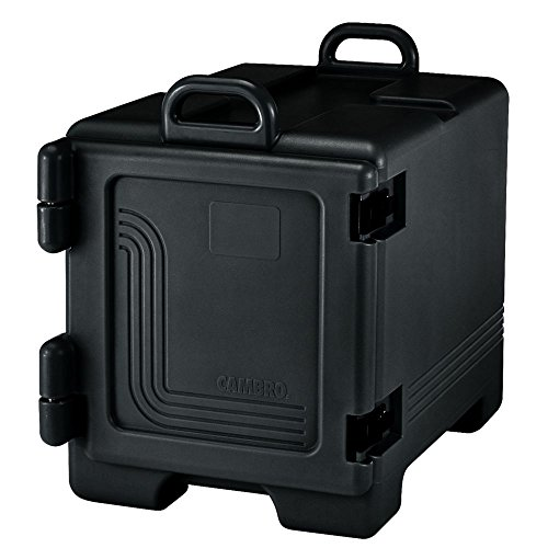 ra Pan Carrier Black Front Loading Insulated Food Pan Carrier with Handles ()