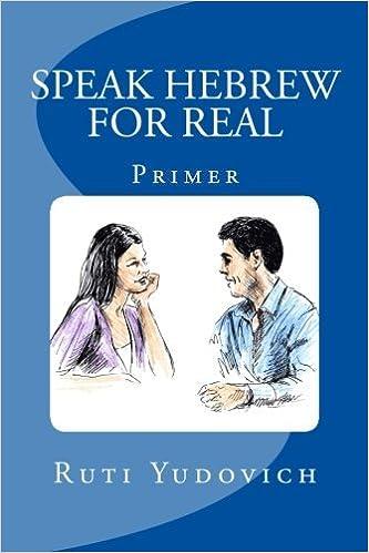 Book Speak Hebrew For Real: Primer (Hebrew Edition) by Ruti Yudovich (2015-02-01)