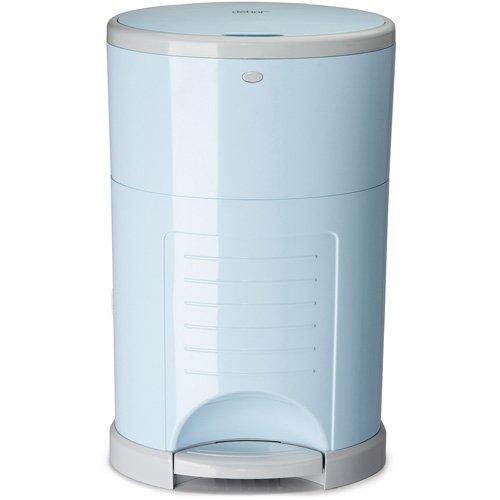 Dekor Plus Disposal Pail, Soft Blue (Diaper Dekor Pail)