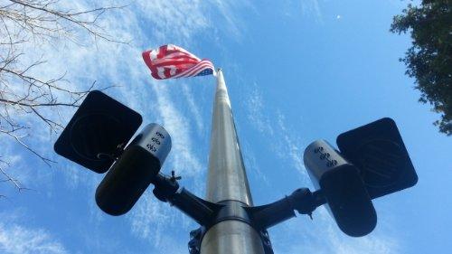 Polepal Solar Led Flagpole Lighting System in US - 1
