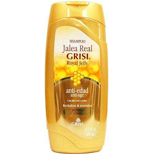 Grisi Royal Jelly Anti Aging Hair Shampoo Revitalizes & Nourishes 13.5 oz. - Jelly Royal Hair