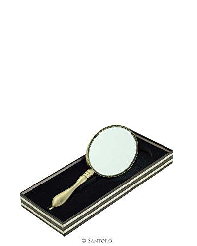 Santoro Gorjuss Specchio a mano The Collector, in confezione regalo, 19 x 7 cm, articolo 523GJ02