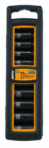 BOSTITCH BTMT72389 MM Impact Socket Set, 11-Piece by BOSTITCH